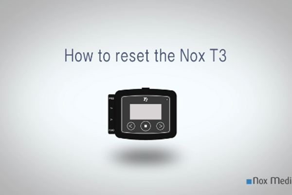 How to Reset the Nox T3