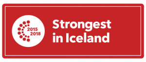 Strongest in Iceland Logo