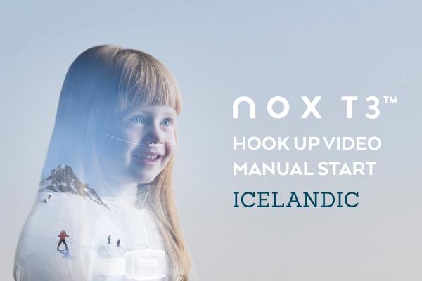 Standard Nox T3 leidbeiningarmyndband handvirkt